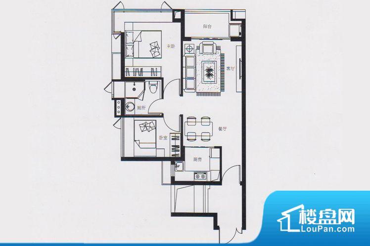 各个空间都很方正,方便后期家具的摆放。重要空间非南向或者东向,不能很好的保证采光,居住舒适度不高。整个户型空间布局合理,真正做到了干湿分离、动静分离,方便后期生活。各个功能区间面积大小都比较合理,后期使用起来比较方便,居住舒适度高。得房率低。