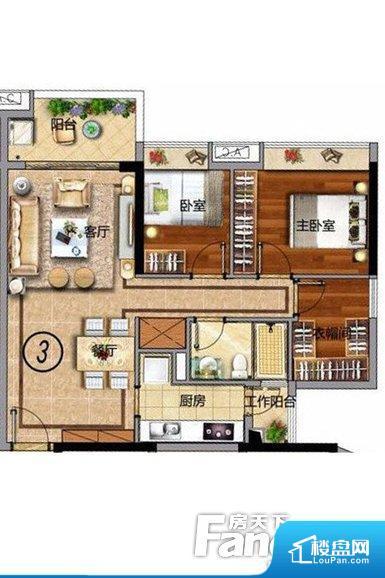 各个空间方正,后期空间利用率高。整个空间采光很好,主卧和客厅均能够保证很好的采光;并且能真正做到全明通透,整个空间空气好。整个户型空间布局合理,真正做到了干湿分离、动静分离,方便后期生活。卧室作为较为重要的休息空间,尺寸合适,有利于主人更好的休息;客厅作为重要的会客空间,尺寸合适,能够保证主人会客需求。卫生间和厨房作为重要的功能区间,尺寸合适,能够很好的满足主人生活需求。公摊相对合理,一般房子公摊