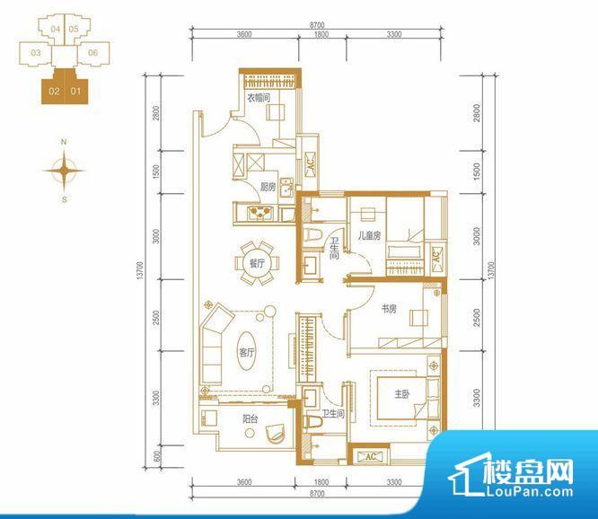 整个空间方正,拐角少,后期利用难度低,提升整个空间的利用率。全明通透的户型,居住舒适度较高。整个空间有充足的采光,这一点对于后期居住,尤其重要。卧室位置合理,能够保证足够安静,客厅的声音不会影响卧室的休息;卫生间位置合理,使用起来动线比较合理;厨房位于门口,方便使用和油烟的排出。客厅、卧室、卫生间和厨房等主要功能间尺寸以及比例合适,方便采光、通风,后期居住方便。公摊高于15%且低于25%,整体得房