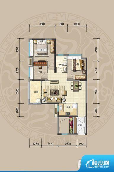 次重要空间不够方正,家具不好摆放,而且容易浪费空间。重要空间非南向或者东向,不能很好的保证采光,居住舒适度不高。卫生间对餐厅是不太卫生,而且又会有细菌。对着客厅也不太好,有种不太礼貌的感觉。如此感觉户型设计上有硬伤。各个功能区间面积大小都比较合理,后期使用起来比较方便,居住舒适度高。