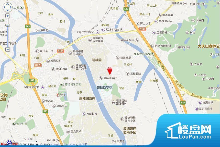 顺德碧桂园·桂澜山效果图