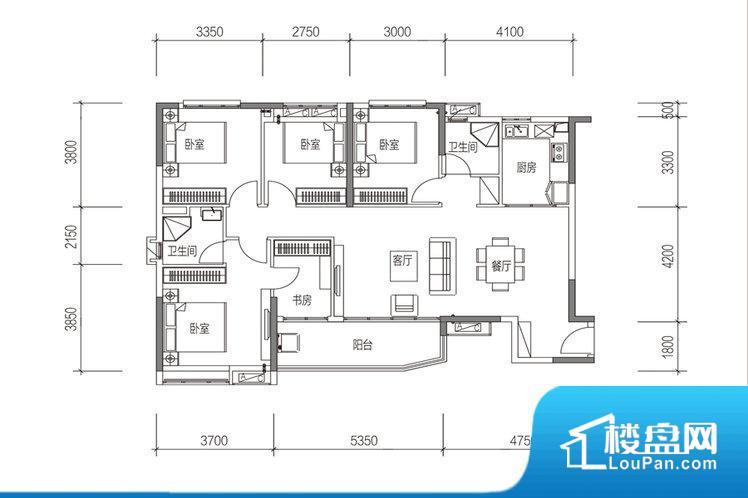 各个空间方正,后期空间利用率高。全明通透的户型,居住舒适度较高。整个空间有充足的采光,这一点对于后期居住,尤其重要。主卧无卫生间,客卫在公共位置,自然主人需要和其他人共用,难免会发生不够用的情况。卧室作为较为重要的休息空间,尺寸合适,有利于主人更好的休息;客厅作为重要的会客空间,尺寸合适,能够保证主人会客需求。卫生间和厨房作为重要的功能区间,尺寸合适,能够很好的满足主人生活需求。公摊相对合理,一般