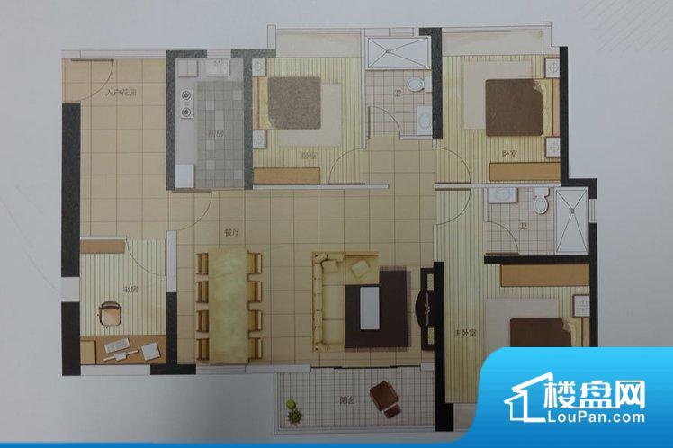 各个空间方正,后期空间利用率高。全明户型,每一个空间都带有窗户,保证后期居住时能够充分采光和透气;通透户型,保证空气能够流通起来,空气质量较好;采光较好,保证居住舒适度。卫生间朝向客厅私密性较差。卧室作为较为重要的休息空间,尺寸合适,有利于主人更好的休息;客厅作为重要的会客空间,尺寸合适,能够保证主人会客需求。卫生间和厨房作为重要的功能区间,尺寸合适,能够很好的满足主人生活需求。公摊相对合理,一般