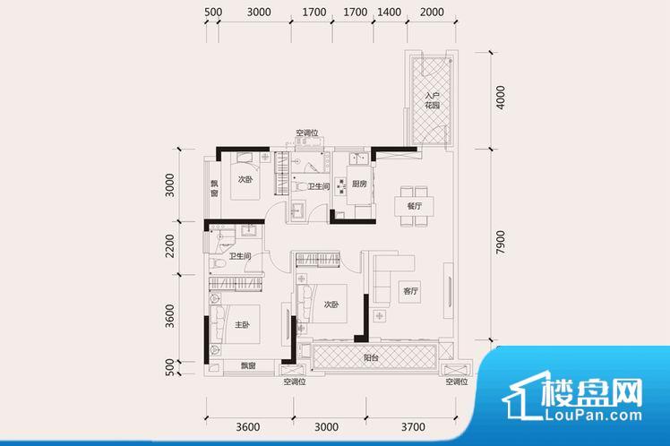 整个空间方正,拐角少,后期利用难度低,提升整个空间的利用率。整个空间采光很好,主卧和客厅均能够保证很好的采光;并且能真正做到全明通透,整个空间空气好。卧室作为较为重要的休息空间,尺寸合适,有利于主人更好的休息;客厅作为重要的会客空间,尺寸合适,能够保证主人会客需求。卫生间和厨房作为重要的功能区间,尺寸合适,能够很好的满足主人生活需求。公摊相对合理,一般房子公摊基本都在此范畴。日常使用基本满足。