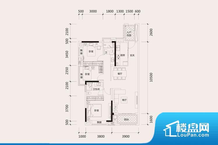 整个空间方正,拐角少,后期利用难度低,提升整个空间的利用率。全明通透的户型,居住舒适度较高。整个空间有充足的采光,这一点对于后期居住,尤其重要。卧室门朝向比较吵闹的区域,不利于主人休息。客厅、卧室、卫生间和厨房等主要功能间尺寸以及比例合适,方便采光、通风,后期居住方便。公摊相对合理,一般房子公摊基本都在此范畴。日常使用基本满足。