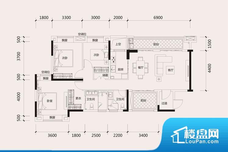 各个空间都很方正,方便后期家具的摆放。全明通透的户型,居住舒适度较高。整个空间有充足的采光,这一点对于后期居住,尤其重要。客厅、卧室、卫生间和厨房等主要功能间尺寸以及比例合适,方便采光、通风,后期居住方便。公摊低于15%,得房率高。