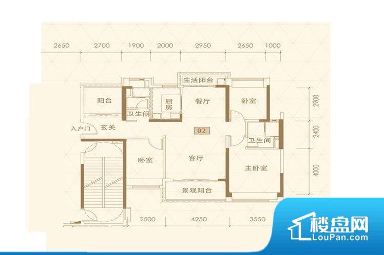 各个空间方正,后期空间利用率高。整个空间采光很好,主卧和客厅均能够保证很好的采光;并且能真正做到全明通透,整个空间空气好。卧室位置合理,能够保证足够安静,客厅的声音不会影响卧室的休息;卫生间位置合理,使用起来动线比较合理;厨房位于门口,方便使用和油烟的排出。客厅、卧室、卫生间和厨房等主要功能间尺寸以及比例合适,方便采光、通风,后期居住方便。
