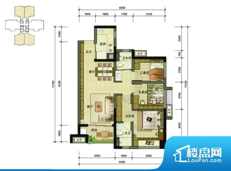各个空间方正,后期空间利用率高。整个空间不够通透,不利于空气流通,尤其是夏天会比较热。卫生间朝向客厅私密性较差,卫生间朝向餐厅产生的气味及细菌对餐厅影响较大,卫生间朝向卧室,产生的气味对卧室有影响。各个功能区间面积大小都比较合理,后期使用起来比较方便,居住舒适度高。公摊小,得房率高。小区公共设施可能不够完善。