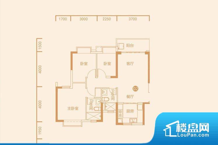 各个空间都很方正,方便后期家具的摆放。全明通透的户型,居住舒适度较高。整个空间有充足的采光,这一点对于后期居住,尤其重要。厨卫等重要的使用较为频繁的空间布局合理,方便使用,并且能够保证整个空间的空气质量。卧室作为较为重要的休息空间,尺寸合适,有利于主人更好的休息;客厅作为重要的会客空间,尺寸合适,能够保证主人会客需求。卫生间和厨房作为重要的功能区间,尺寸合适,能够很好的满足主人生活需求。