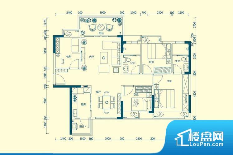 各个空间方正,后期空间利用率高。重要空间非南向或者东向,不能很好的保证采光,居住舒适度不高。厨卫等重要的使用较为频繁的空间布局合理,方便使用,并且能够保证整个空间的空气质量。卧室作为较为重要的休息空间,尺寸合适,有利于主人更好的休息;客厅作为重要的会客空间,尺寸合适,能够保证主人会客需求。卫生间和厨房作为重要的功能区间,尺寸合适,能够很好的满足主人生活需求。