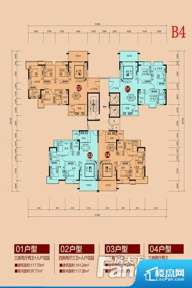 各个空间方正,后期空间利用率高。全明通透的户型,居住舒适度较高。整个空间有充足的采光,这一点对于后期居住,尤其重要。厨卫等重要的使用较为频繁的空间布局合理,方便使用,并且能够保证整个空间的空气质量。各个功能区间面积大小都比较合理,后期使用起来比较方便,居住舒适度高。