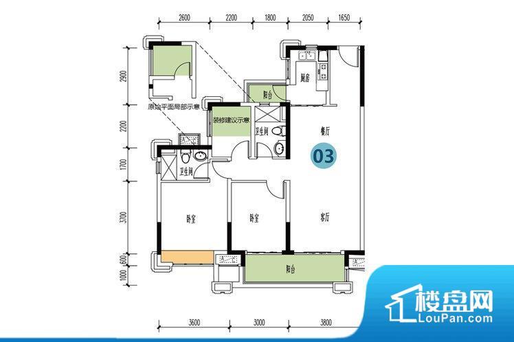 整个空间方正,拐角少,后期利用难度低,提升整个空间的利用率。全明通透的户型,居住舒适度较高。整个空间有充足的采光,这一点对于后期居住,尤其重要。厨卫等重要的使用较为频繁的空间布局合理,方便使用,并且能够保证整个空间的空气质量。客厅、卧室、卫生间和厨房等主要功能间尺寸以及比例合适,方便采光、通风,后期居住方便。公摊高于15%且低于25%,整体得房率不算太高。