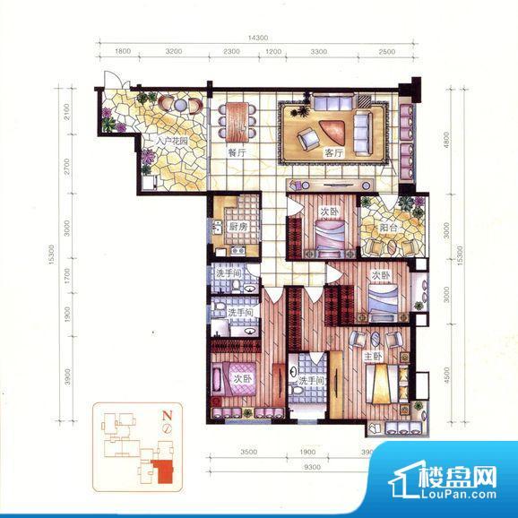 各个空间方正,后期空间利用率高。重要空间非南向或者东向,不能很好的保证采光,居住舒适度不高。整个空间不够通透,不利于空气流通,尤其是夏天会比较热。厨卫等重要的使用较为频繁的空间布局合理,方便使用,并且能够保证整个空间的空气质量。客厅、卧室、卫生间和厨房等主要功能间尺寸以及比例合适,方便采光、通风,后期居住方便。公摊小,得房率高。小区公共设施可能不够完善。