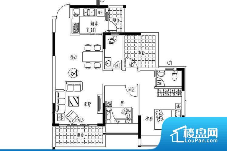 各个空间都很方正,方便后期家具的摆放。不通风,南方会非常潮湿,特别是在雨季。而北方干燥会加重干燥的情况。卫生间朝向客厅私密性较差,卫生间朝向餐厅产生的气味及细菌对餐厅影响较大,卫生间朝向卧室,产生的气味对卧室有影响。厨房门朝向客厅,做饭时油烟对客厅影响较大。卧室作为较为重要的休息空间,尺寸合适,有利于主人更好的休息;客厅作为重要的会客空间,尺寸合适,能够保证主人会客需求。卫生间和厨房作为重要的功能