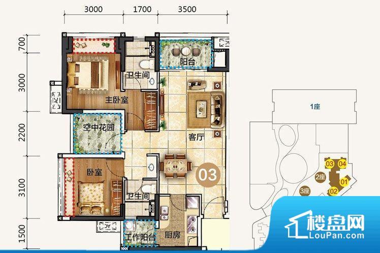 整个空间方正,拐角少,后期利用难度低,提升整个空间的利用率。全明通透的户型,居住舒适度较高。整个空间有充足的采光,这一点对于后期居住,尤其重要。厨房门朝向客厅,做饭时油烟对客厅影响较大。各个功能区间面积大小都比较合理,后期使用起来比较方便,居住舒适度高。公摊高于15%且低于25%,整体得房率不算太高。