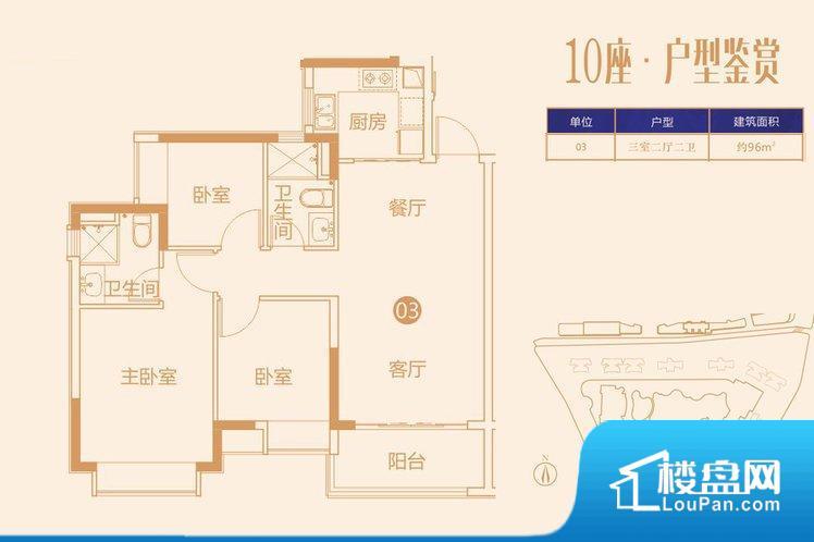 整个空间方正,拐角少,后期利用难度低,提升整个空间的利用率。无穿堂风,室内空气无法对流,会导致过于潮湿或者干燥。厨房门朝向,做饭产生油烟和噪音对客厅有影响。客厅、卧室、卫生间和厨房等主要功能间尺寸以及比例合适,方便采光、通风,后期居住方便。公摊低于15%,得房率高;但是由于公摊太低,小区内基本设施可能很难保证。