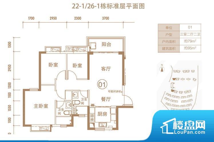 各个空间方正,后期空间利用率高。全明户型,每一个空间都带有窗户,保证后期居住时能够充分采光和透气;通透户型,保证空气能够流通起来,空气质量较好;采光较好,保证居住舒适度。厨房门朝向客厅,做饭时油烟对客厅影响较大。客厅、卧室、卫生间和厨房等主要功能间尺寸以及比例合适,方便采光、通风,后期居住方便。公摊小,得房率高。小区公共设施可能不够完善。
