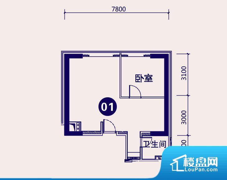 各个空间方正,后期空间利用率高。全明通透的户型,居住舒适度较高。整个空间有充足的采光,这一点对于后期居住,尤其重要。整个户型空间布局合理,真正做到了干湿分离、动静分离,方便后期生活。卧室作为较为重要的休息空间,尺寸合适,有利于主人更好的休息;客厅作为重要的会客空间,尺寸合适,能够保证主人会客需求。卫生间和厨房作为重要的功能区间,尺寸合适,能够很好的满足主人生活需求。公摊低于15%,属于目前市场中公