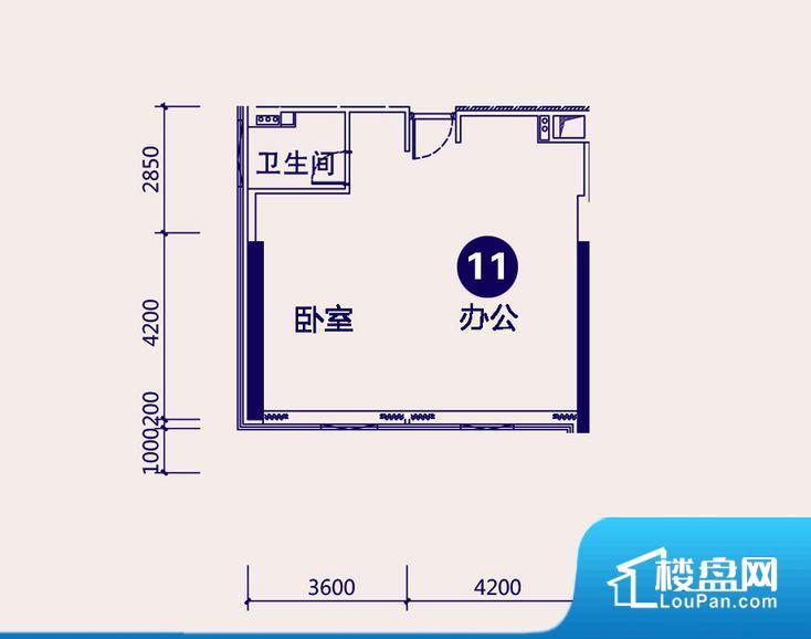 各个空间方正,后期空间利用率高。整个空间采光很好,主卧和客厅均能够保证很好的采光;并且能真正做到全明通透,整个空间空气好。厨卫等重要的使用较为频繁的空间布局合理,方便使用,并且能够保证整个空间的空气质量。卧室作为较为重要的休息空间,尺寸合适,有利于主人更好的休息;客厅作为重要的会客空间,尺寸合适,能够保证主人会客需求。卫生间和厨房作为重要的功能区间,尺寸合适,能够很好的满足主人生活需求。公摊小,得