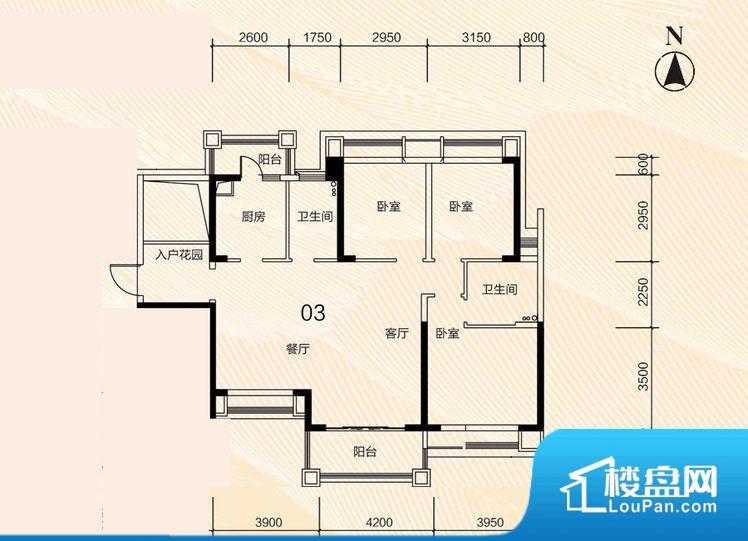 整个空间方正,拐角少,后期利用难度低,提升整个空间的利用率。无穿堂风,室内空气无法对流,会导致过于潮湿或者干燥。主人去卫生间要传堂入室,整个动线过长,使用起来不方便。卧室门朝向客厅,外人可以一目了然的看到卧室,私密性较差。卫生间朝向客厅私密性较差,卫生间朝向餐厅产生的气味及细菌对餐厅影响较大,卫生间朝向卧室,产生的气味对卧室有影响。厨房门对着客厅会有油烟方面的困扰,不过通风好也可以忽略。客厅、卧室