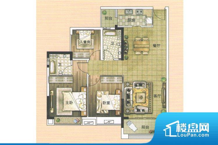 整个空间方正,拐角少,后期利用难度低,提升整个空间的利用率。整个空间采光很好,主卧和客厅均能够保证很好的采光;并且能真正做到全明通透,整个空间空气好。厨卫等重要的使用较为频繁的空间布局合理,方便使用,并且能够保证整个空间的空气质量。各个功能区间面积大小都比较合理,后期使用起来比较方便,居住舒适度高。公摊高于15%且低于25%,整体得房率不算太高。