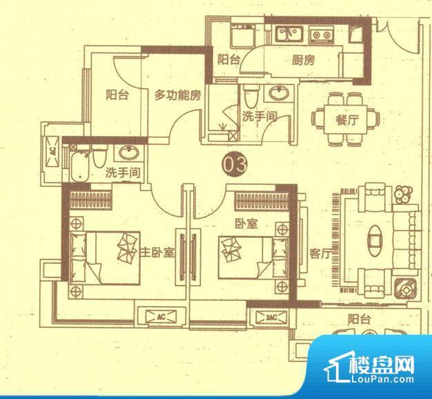 整个空间方正,拐角少,后期利用难度低,提升整个空间的利用率。卫生间无对外窗户,采光不好,不利于后期使用过程中的排风透气。各个功能区间面积大小都比较合理,后期使用起来比较方便,居住舒适度高。公摊相对合理,一般房子公摊基本都在此范畴。日常使用基本满足。