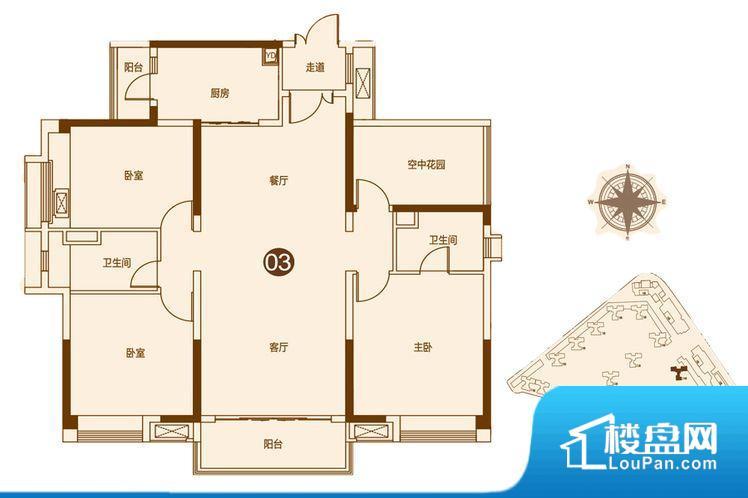 各个空间都很方正,方便后期家具的摆放。整个空间不够通透,不利于空气流通,尤其是夏天会比较热。卧室位置合理,能够保证足够安静,客厅的声音不会影响卧室的休息;卫生间位置合理,使用起来动线比较合理;厨房位于门口,方便使用和油烟的排出。各个功能区间面积大小都比较合理,后期使用起来比较方便,居住舒适度高。公摊高于15%且低于25%,整体得房率不算太高。