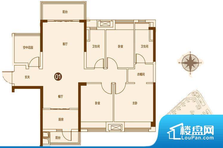 各个空间都很方正,方便后期家具的摆放。重要空间非南向或者东向,不能很好的保证采光,居住舒适度不高。厨房门朝向客厅,做饭时油烟对客厅影响较大。客厅、卧室、卫生间和厨房等主要功能间尺寸以及比例合适,方便采光、通风,后期居住方便。公摊相对合理,一般房子公摊基本都在此范畴。日常使用基本满足。