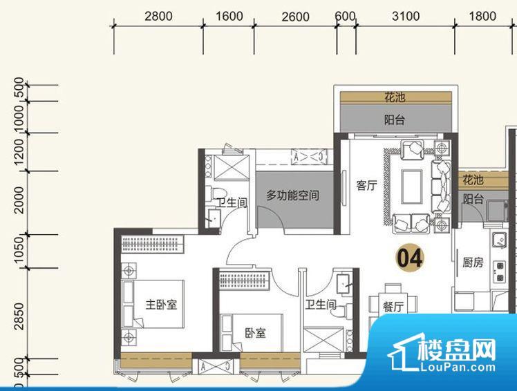 各个空间方正,后期空间利用率高。全明通透的户型,居住舒适度较高。整个空间有充足的采光,这一点对于后期居住,尤其重要。厨卫等重要的使用较为频繁的空间布局合理,方便使用,并且能够保证整个空间的空气质量。客厅、卧室、卫生间和厨房等主要功能间尺寸以及比例合适,方便采光、通风,后期居住方便。公摊相对合理,一般房子公摊基本都在此范畴。日常使用基本满足。