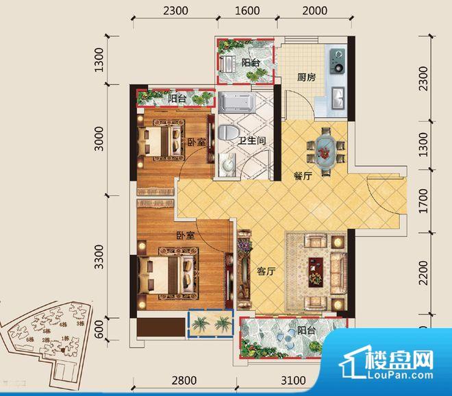 拐角较多的话,不方便家具的摆放,浪费面积。无穿堂风,室内空气无法对流,会导致过于潮湿或者干燥。厨卫等重要的使用较为频繁的空间布局合理,方便使用,并且能够保证整个空间的空气质量。卧室作为较为重要的休息空间,尺寸合适,有利于主人更好的休息;客厅作为重要的会客空间,尺寸合适,能够保证主人会客需求。卫生间和厨房作为重要的功能区间,尺寸合适,能够很好的满足主人生活需求。公摊低于15%,属于目前市场中公摊很低