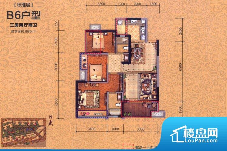 各个空间方正,后期空间利用率高。无穿堂风,室内空气无法对流,会导致过于潮湿或者干燥。整个户型空间布局合理,真正做到了干湿分离、动静分离,方便后期生活。客厅、卧室、卫生间和厨房等主要功能间尺寸以及比例合适,方便采光、通风,后期居住方便。公摊低于15%,得房率高;但是由于公摊太低,小区内基本设施可能很难保证。