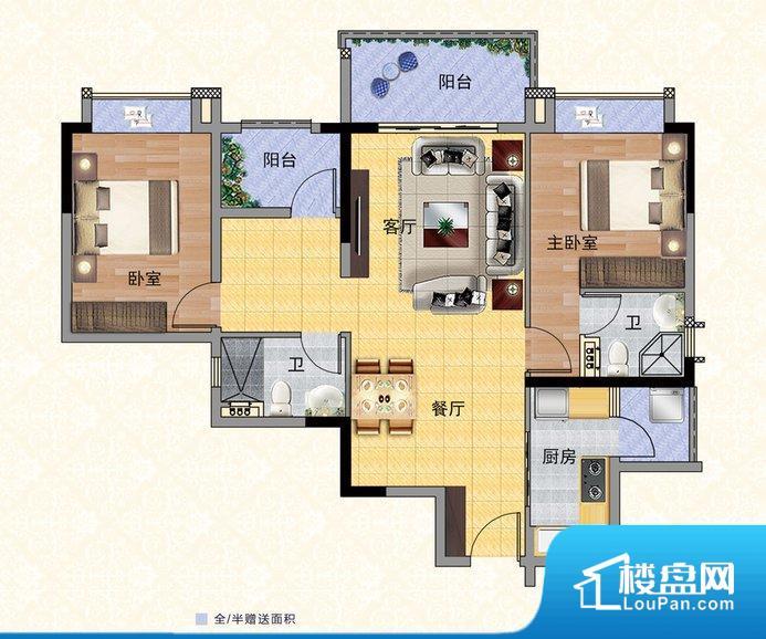 各个空间都很方正,方便后期家具的摆放。整个空间采光很好,主卧和客厅均能够保证很好的采光;并且能真正做到全明通透,整个空间空气好。卧室位置合理,能够保证足够安静,客厅的声音不会影响卧室的休息;卫生间位置合理,使用起来动线比较合理;厨房位于门口,方便使用和油烟的排出。卧室作为较为重要的休息空间,尺寸合适,有利于主人更好的休息;客厅作为重要的会客空间,尺寸合适,能够保证主人会客需求。卫生间和厨房作为重要