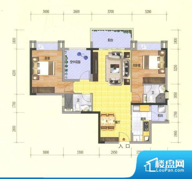 各个空间方正,后期空间利用率高。整个空间采光很好,主卧和客厅均能够保证很好的采光;并且能真正做到全明通透,整个空间空气好。卧室位置合理,能够保证足够安静,客厅的声音不会影响卧室的休息;卫生间位置合理,使用起来动线比较合理;厨房位于门口,方便使用和油烟的排出。客厅、卧室、卫生间和厨房等主要功能间尺寸以及比例合适,方便采光、通风,后期居住方便。公摊相对合理,一般房子公摊基本都在此范畴。日常使用基本满足