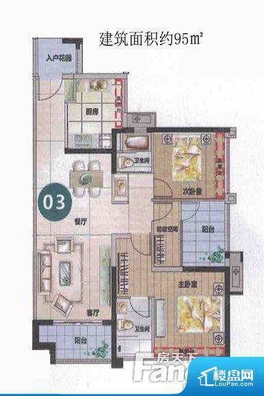 户型方正实用,空间利用率高,南北对流通透,整个空间空气好,主卧朝南,阳台和房间都采光充足,功能区间分布合理,能做到干湿分离、动静分离,客厅、主卧、其他卧室面宽皆合理,居住舒适。