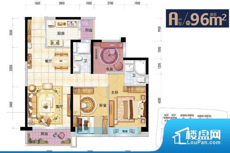 各个空间都很方正,方便后期家具的摆放。无穿堂风,室内空气无法对流,会导致过于潮湿或者干燥。厨卫等重要的使用较为频繁的空间布局合理,方便使用,并且能够保证整个空间的空气质量。客厅、卧室、卫生间和厨房等主要功能间尺寸以及比例合适,方便采光、通风,后期居住方便。公摊小,得房率高。小区公共设施可能不够完善。