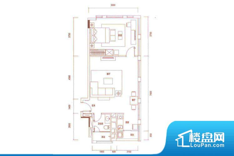 户型方正实用,空间利用率高,南北通透,整个空间空气好,阳台和房间都采光充足,功能区间分布一般,能做到干湿分离、动静分离,客厅、主卧面宽皆合理,居住舒适。