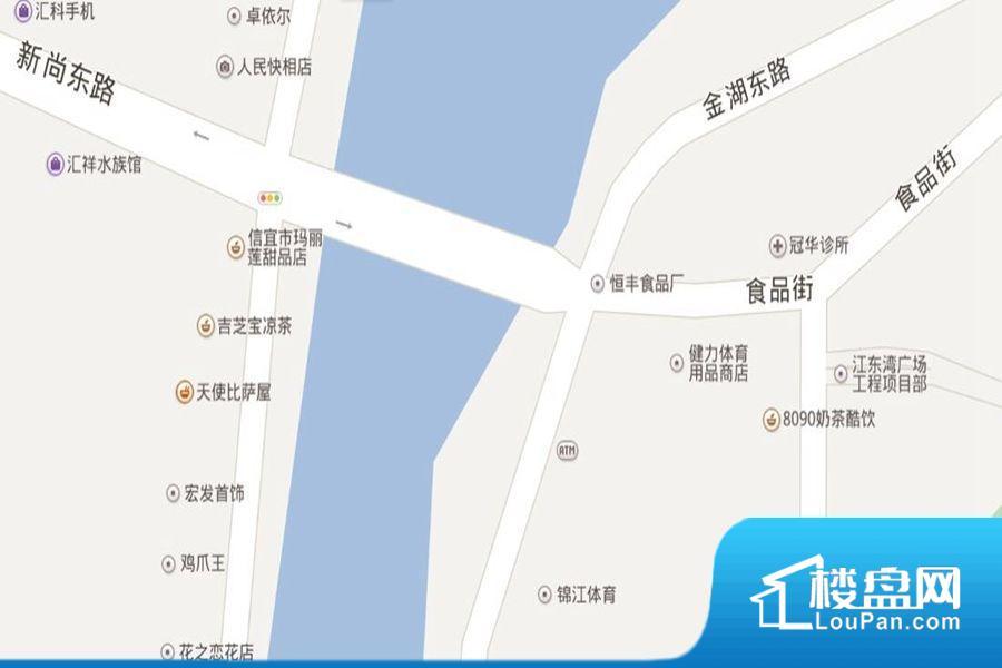 江东湾广场效果图