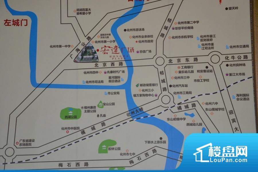 宏达广场效果图