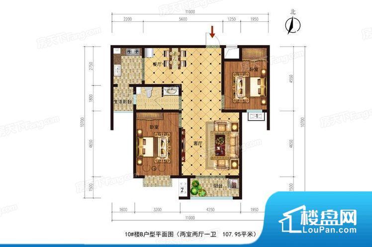各个空间都很方正,方便后期家具的摆放。整个空间不够通透,不利于空气流通,尤其是夏天会比较热。主卧无卫生间,客卫在公共位置,自然主人需要和其他人共用,难免会发生不够用的情况。客厅、卧室、卫生间和厨房等主要功能间尺寸以及比例合适,方便采光、通风,后期居住方便。公摊相对合理,一般房子公摊基本都在此范畴。日常使用基本满足。