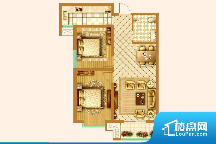 各个空间方正,后期空间利用率高。卫生间如没有窗子,可加管道通风,但是相对来说卫生间有窗户是好的情况,利于排湿,不会使湿气进到室内。卫生间作为重要的空间,距离较远,不方便主人使用。卧室门朝向客厅,外人可以一目了然的看到卧室,私密性较差。卧室作为较为重要的休息空间,尺寸合适,有利于主人更好的休息;客厅作为重要的会客空间,尺寸合适,能够保证主人会客需求。卫生间和厨房作为重要的功能区间,尺寸合适,能够很好