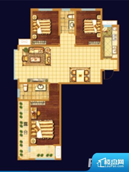 各个空间都很方正,方便后期家具的摆放。全明通透的户型,居住舒适度较高。整个空间有充足的采光,这一点对于后期居住,尤其重要。卧室门朝向客厅,外人可以一目了然的看到卧室,私密性较差。各个功能区间面积大小都比较合理,后期使用起来比较方便,居住舒适度高。公摊低于15%,得房率高;但是由于公摊太低,小区内基本设施可能很难保证。