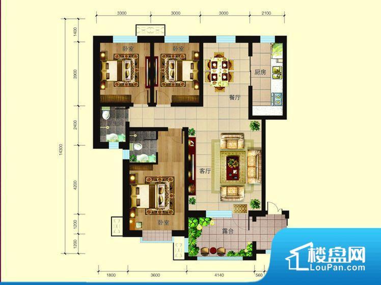 各个空间都很方正,方便后期家具的摆放。全明通透的户型,居住舒适度较高。整个空间有充足的采光,这一点对于后期居住,尤其重要。厨房靠里,做饭产生油烟和噪音对整间房子影响较大。各个功能区间面积大小都比较合理,后期使用起来比较方便,居住舒适度高。公摊相对合理,一般房子公摊基本都在此范畴。日常使用基本满足。