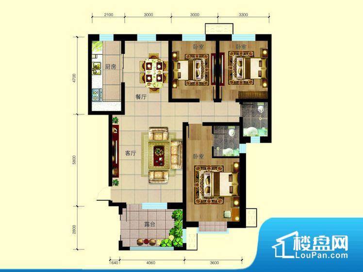 各个空间方正,后期空间利用率高。整个空间采光很好,主卧和客厅均能够保证很好的采光;并且能真正做到全明通透,整个空间空气好。厨房在整个空间比较深的位置,一方面使用不便,另一方面使用时油烟对整个家里的空气影响较大客厅、卧室、卫生间和厨房等主要功能间尺寸以及比例合适,方便采光、通风,后期居住方便。公摊相对合理,一般房子公摊基本都在此范畴。日常使用基本满足。