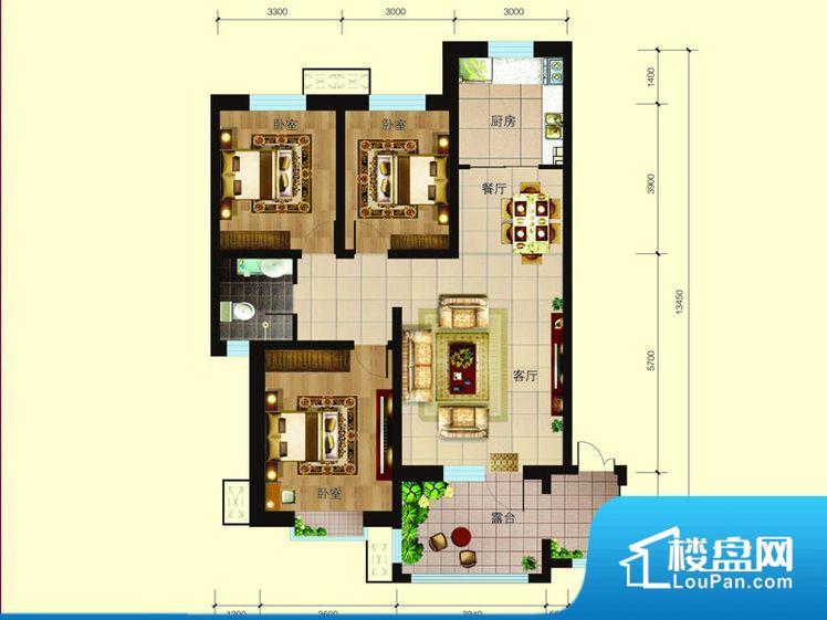 各个空间方正,后期空间利用率高。整个空间采光很好,主卧和客厅均能够保证很好的采光;并且能真正做到全明通透,整个空间空气好。厨房靠里,做饭产生油烟和噪音对整间房子影响较大。卧室作为较为重要的休息空间,尺寸合适,有利于主人更好的休息;客厅作为重要的会客空间,尺寸合适,能够保证主人会客需求。卫生间和厨房作为重要的功能区间,尺寸合适,能够很好的满足主人生活需求。公摊相对合理,一般房子公摊基本都在此范畴。日