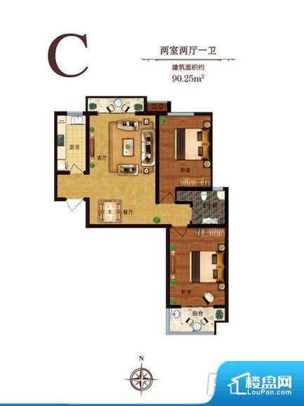 各个空间方正,后期空间利用率高。重要空间非南向或者东向,不能很好的保证采光,居住舒适度不高。整个户型空间布局合理,真正做到了干湿分离、动静分离,方便后期生活。各个功能区间面积大小都比较合理,后期使用起来比较方便,居住舒适度高。公摊相对合理,一般房子公摊基本都在此范畴。日常使用基本满足。