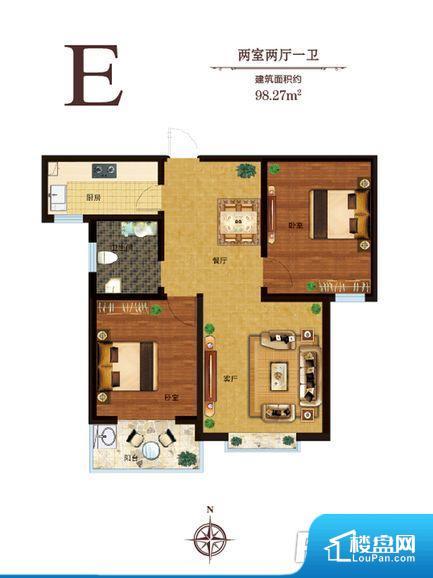 整个空间方正,拐角少,后期利用难度低,提升整个空间的利用率。不通风,南方会非常潮湿,特别是在雨季。而北方干燥会加重干燥的情况。卫生间朝向客厅私密性较差,卫生间朝向餐厅产生的气味及细菌对餐厅影响较大,卫生间朝向卧室,产生的气味对卧室有影响。客厅、卧室、卫生间和厨房等主要功能间尺寸以及比例合适,方便采光、通风,后期居住方便。公摊相对合理,一般房子公摊基本都在此范畴。日常使用基本满足。