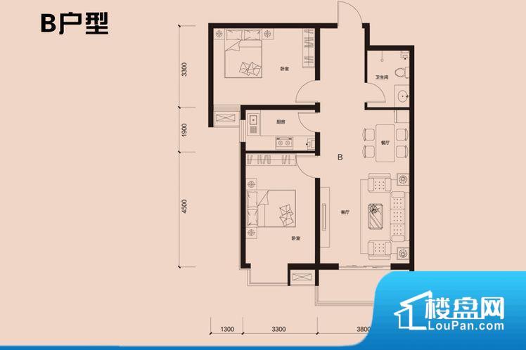 各个空间方正,后期空间利用率高。无对外窗户,通风采光较差,卫生间湿气会加重,不利于身体健康。卧室是休息的地方,需要安静,如果距离客厅和餐厅会有噪音,影响休息。时间长,主人容易神经衰弱。客厅、卧室、卫生间和厨房等主要功能间尺寸以及比例合适,方便采光、通风,后期居住方便。公摊相对合理,一般房子公摊基本都在此范畴。日常使用基本满足。