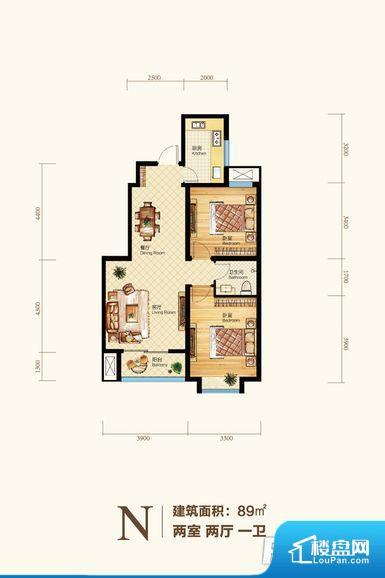 整个空间方正,拐角少,后期利用难度低,提升整个空间的利用率。无对外窗户,通风采光较差,卫生间湿气会加重,不利于身体健康。厨卫等重要的使用较为频繁的空间布局合理,方便使用,并且能够保证整个空间的空气质量。客厅、卧室、卫生间和厨房等主要功能间尺寸以及比例合适,方便采光、通风,后期居住方便。公摊高于15%且低于25%,整体得房率不算太高。