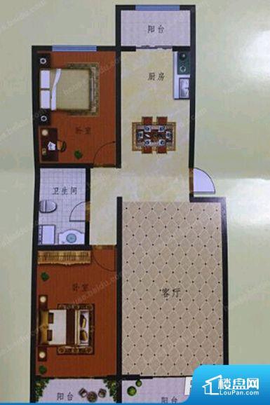 各个空间方正,后期空间利用率高。全明户型,每一个空间都带有窗户,保证后期居住时能够充分采光和透气;通透户型,保证空气能够流通起来,空气质量较好;采光较好,保证居住舒适度。主人去卫生间要传堂入室,整个动线过长,使用起来不方便。各个功能区间面积大小都比较合理,后期使用起来比较方便,居住舒适度高。公摊高于15%且低于25%,整体得房率不算太高。