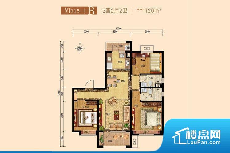各个空间都很方正,方便后期家具的摆放。全明通透的户型,居住舒适度较高。整个空间有充足的采光,这一点对于后期居住,尤其重要。卧室位置合理,能够保证足够安静,客厅的声音不会影响卧室的休息;卫生间位置合理,使用起来动线比较合理;厨房位于门口,方便使用和油烟的排出。客厅、卧室、卫生间和厨房等主要功能间尺寸以及比例合适,方便采光、通风,后期居住方便。公摊相对合理,一般房子公摊基本都在此范畴。日常使用基本满足